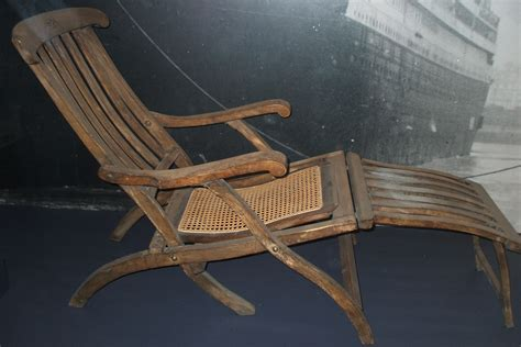 titanic deck chair view size image