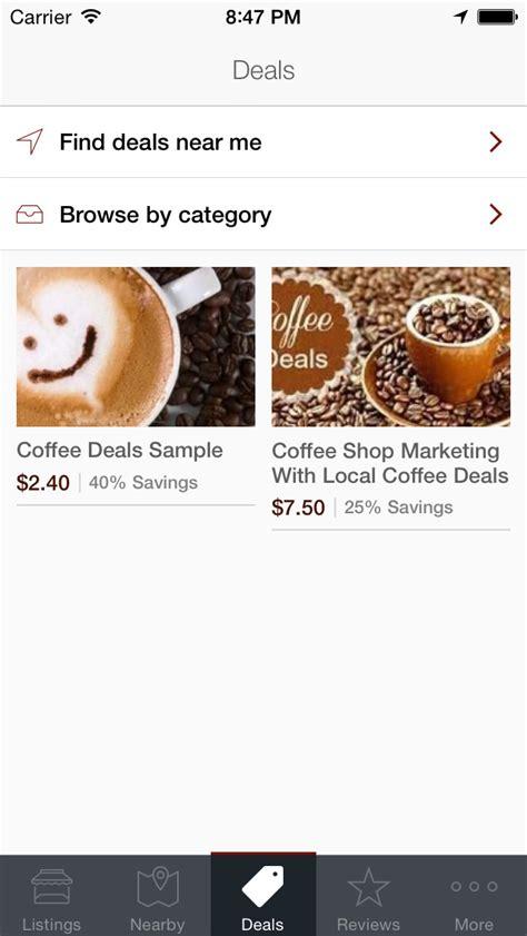 Coffee House Near Me by Find Coffee Shops Near Me App Ios