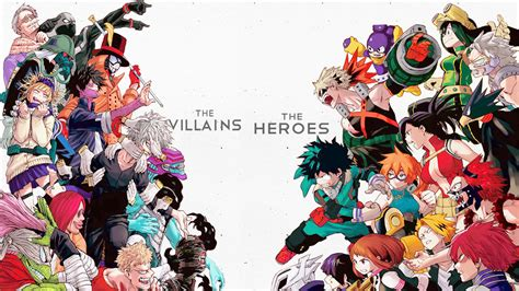 No Heroes No Villains by The Villains Vs The Heroes Boku No Academia By Asr