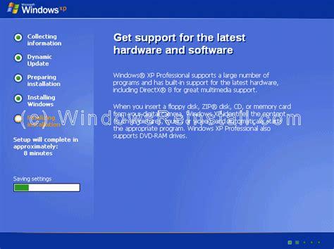 xp setup guide repair windows xp professional guide