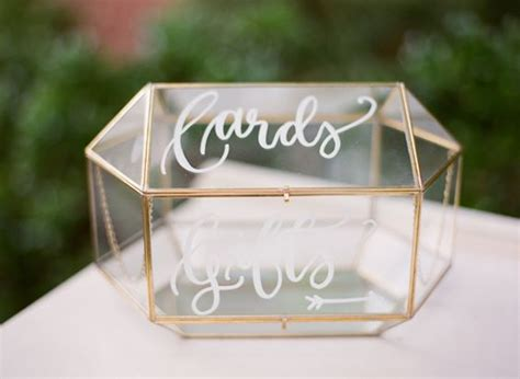 Wedding Box by 18 Diy Wedding Card Boxes For Your Guests To Slip Your