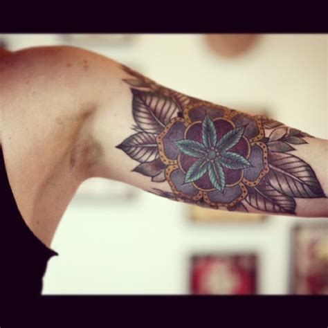 inner upper arm tattoos beautiful floral s arm best design ideas