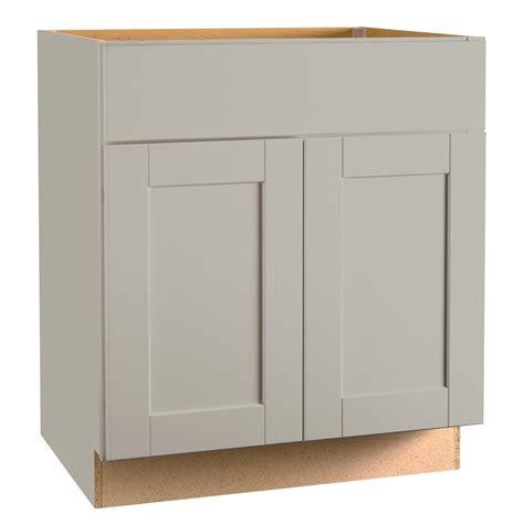Kitchen Cabinet Glides by Hton Bay Shaker Assembled 30x34 5x24 In Base Kitchen