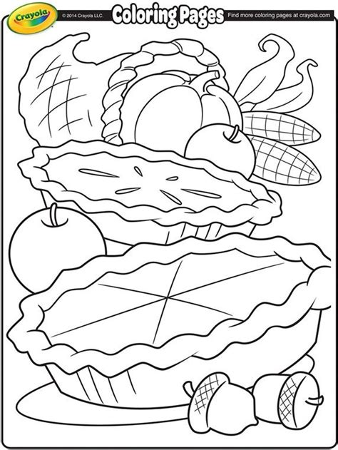 fall coloring pages crayola cornucopia on crayola com fall cookies pinterest