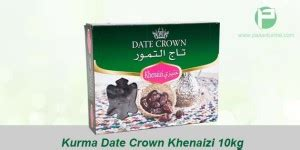 Murah Kurma Date Crown Khalas Isi 10 X 1 Kg jual grosir kurma date crown khalas harga murah dari distributor pasarkurma