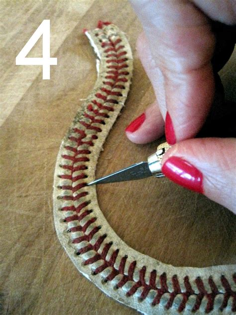 yours truly diy baseball bracelet