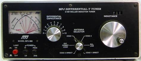 mfj 986 3kw roller inductor tuner mfj
