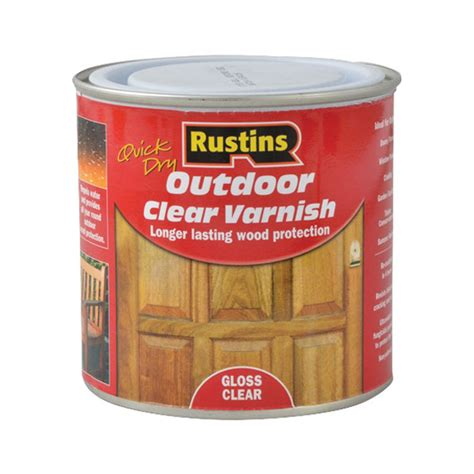 Rustins Floor Varnish by Rustins Eavg500 Drying Outdoor Clear Varnish Gloss