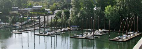 boat moorage willamette river portland oregon marinas on upper willamette river slip