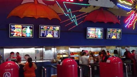 electric umbrella restaurant  epcot impossible