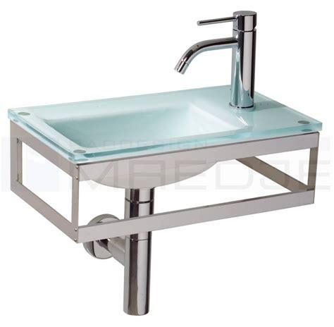 waschtisch glas design g 228 ste glas waschtisch quot pocia quot 45x26cm green