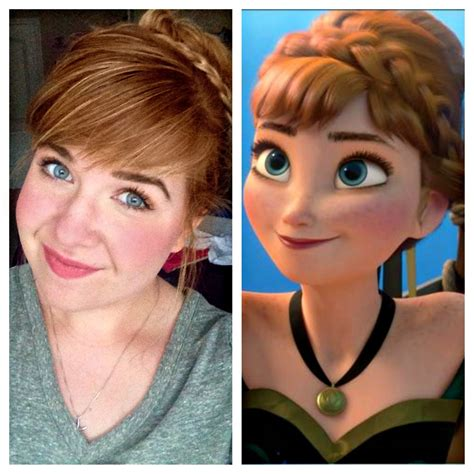 anna from frozen hairstyle anna frozen coronation hair and makeup tutorial disney