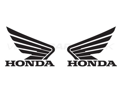Girly Wall Stickers honda wings tank decals