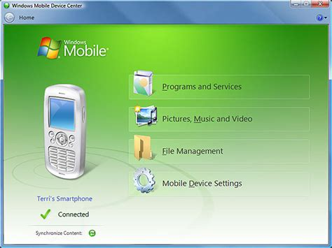 microsoft windows mobile device center windows mobile device center windows descargar