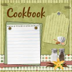 cookbook cover template free living at the alverno