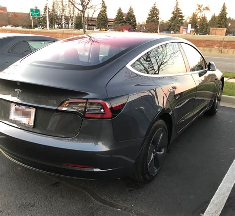 tesla model 3 tesla model 3 spotted in michigan despite vehicle sales