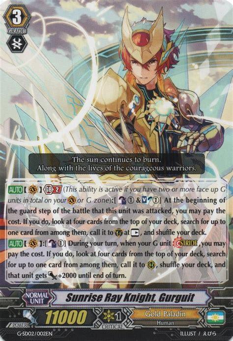 of s light perimore vanguard corner gold paladin gurguit unite deck list