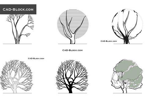 tree templates for autocad free rhino tree blocks beatiful tree