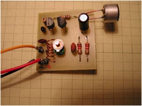 diy circuit board projects building simple fm transmitter