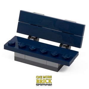 lego bench lego park bench blue bench from city park set 60134 new