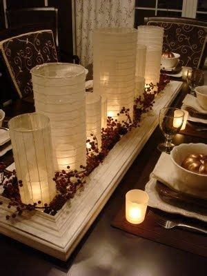 Dining Room Table Centerpieces With Candles Centerpieces Tables And Framed Mirrors On