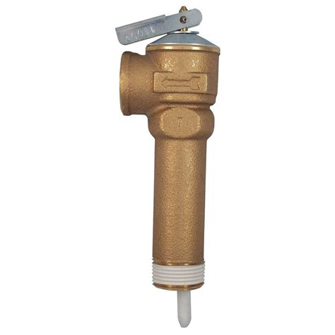 Instant Water Heater Acme acme 3 4 in brass nclx a temperature and pressure