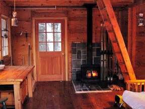 inside a small log cabins small rustic cabin interior