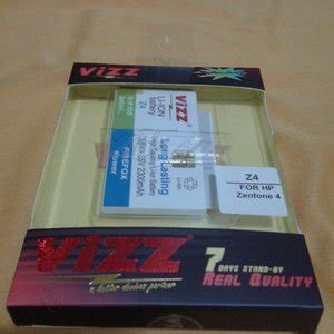Baterai Hp Merk Wellcomm jual beli battery asus zenfone 4 merk vizz baru baterai handphone terbaru murah