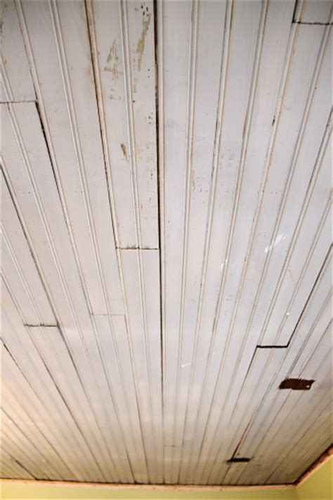 how to remove beadboard starting work on my study ceiling homeandawaywithlisa