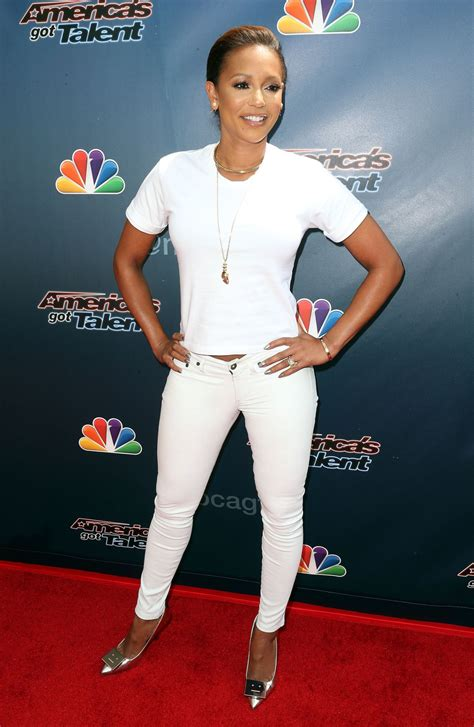 Catwalk To Carpet Melanie Brown In Rm By Roland Mouret by Melanie Brown At America S Got Talent Carpet Event