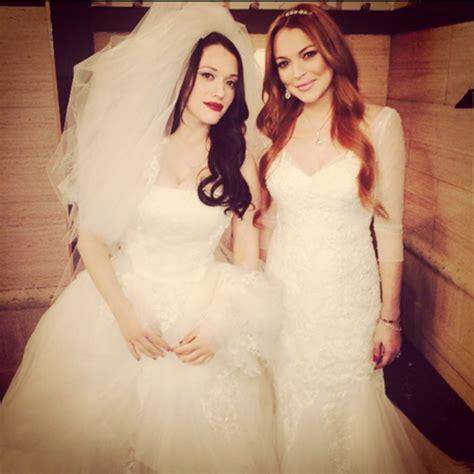 broke girls wedding dresses    exact gowns