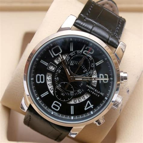 Montblanc Flyback Leather Bw For montblanc flyback chronograph limited edition in aed208dubai abu dhabi sharjah
