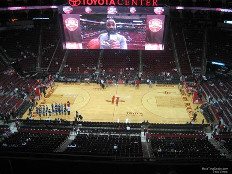 Best Seats At Toyota Center Houston Toyota Center Section 409 Houston Rockets