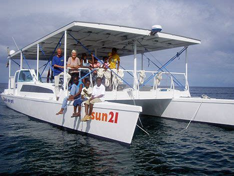 small boat kept on large boat 7 awesome solar boats you must see treehugger