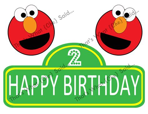 elmo happy birthday banner printable sesame street clipart happy birthday pencil and in color