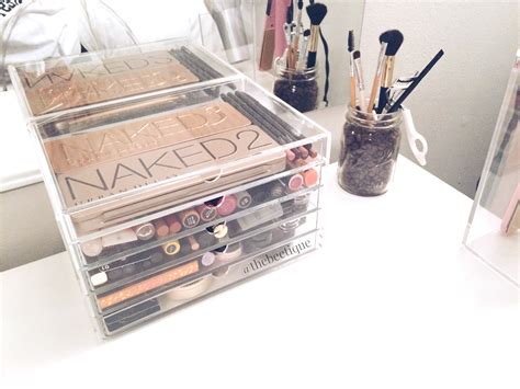 ikea makeup organizer the beetique diy ikea vanity trends
