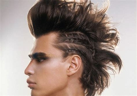 cool edgy hairstyles 35 sleek long hairstyles for men creativefan