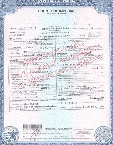 Orange County Records Birth Certificate Birth Certificates Orange County San Diego Birth Certificate 1874 Birth Certificate