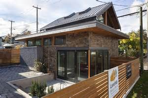 small efficient homes gallery an energy efficient contemporary laneway house by