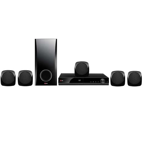 Optik Home Theater Lg home theater lg dh4130s 5 1 canais dvd player karaok 234 entrada usb e cabo hdmi 330 w