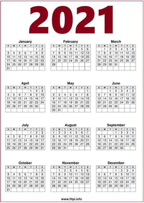 calendar printable  page