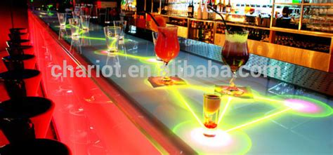interactive bar top best price chariot bar top interactive table menu easily
