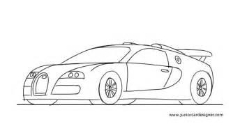 Bentley Practice Redcar How To Draw A Sports Car Bugatti Veyron Junior Car Designer