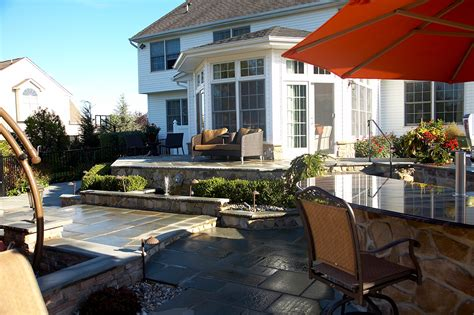 patio outside custom built indoor and outdoor patios staten island nj