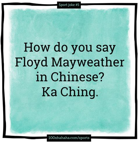 How Do You Say In by How Do You Say Floyd Mayweather In Ka Ching
