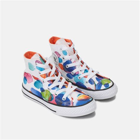 childrens converse sneakers converse chuck all floral petals shoe