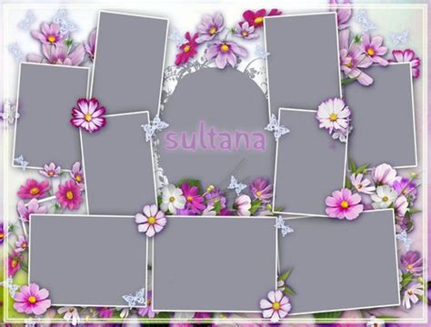 picture frame templates for photoshop 16 food free psd collage templates images free photoshop