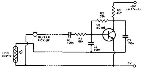 diy inductorless wah ldr wah schematic how to invert an ldr vesselyn