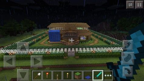 minecraft redstone house maps redstone house map for minecraft pe 0 13 0
