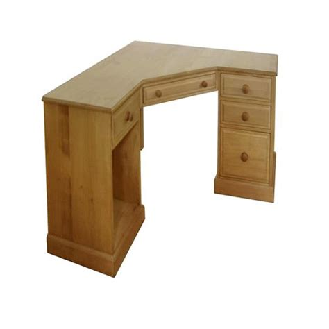 Wooden Corner Desk Computer Desks Solid Pine Office Pine Corner Computer Desk 1025